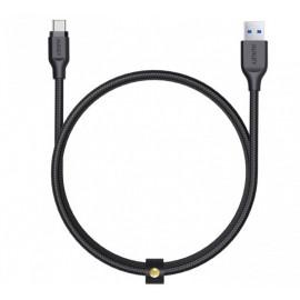 Aukey - Câble USB-A vers USB-C 1.2m - Noire