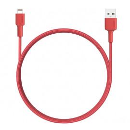 Aukey - Câble USB-A vers MFI-lightning 1.2m - Rouge