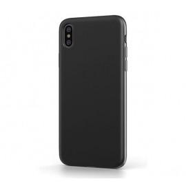 BeHello - Coque iPhone Xs Max en Silicone - Noire
