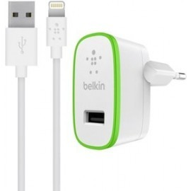 Belkin BOOST UP Chargeur secteur 2.4A câble Lightning 1,2 mètre