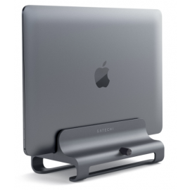 Satechi Aluminum Laptop Support Vertical Space Gray