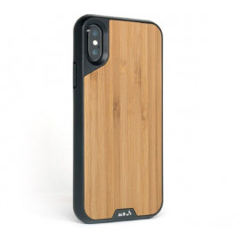 Coque Mous Limitless 2.0 pour iPhone XS Max Bamboo