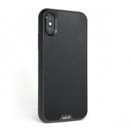 Coque Mous Limitless 2.0 pour iPhone X / XS noire en Cuir