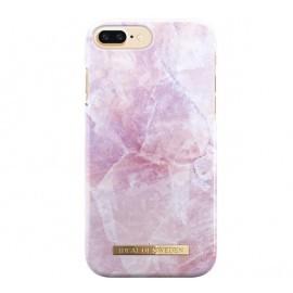 iDeal of Sweden Coque Fashion iPhone 8 Plus / 7 Plus Fashion marbre rose