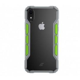 Element Case Rally - Coque Antichoc - iPhone X / XS - Gris et vert