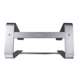 Macally Aluminium Support Ordinateur Portable Macbook Gris