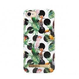 iDeal of Sweden Coque Fashion iPhone 8 / 7 / SE 2020 tropical et pois