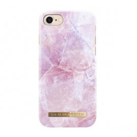 iDeal of Sweden Coque Fashion iPhone 8 / 7 / SE 2020 marbre rose