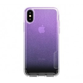 Tech21 Coque Pure Shimmer iPhone X / XS rose