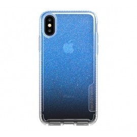 Tech21 Coque Pure Shimmer iPhone XS Max bleue