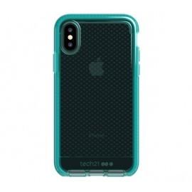 Tech21 Coque Evo Check iPhone X / XS verte / transparente