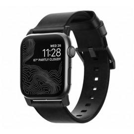 Nomad Modern bracelet en cuir Apple Watch 38 / 40 mm Noir