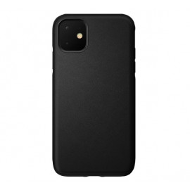 Nomad Active Rugged Cuir - Robuste - Coque iPhone 11 - Noire