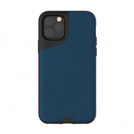Mous Contour - Coque iPhone 11 Pro Max - En cuir - Bleue