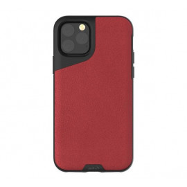 Mous Contour - Coque iPhone 11 Pro Max - En cuir - Rouge