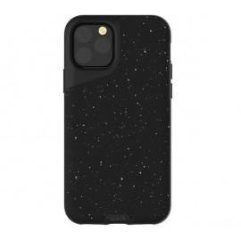 Mous Contour - Coque iPhone 11 Pro Max - En cuir - Noir moucheté