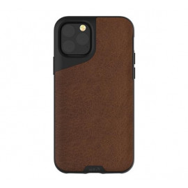 Mous Contour - Coque iPhone 11 Pro Max - En cuir - Marron
