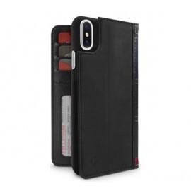 Twelve South Bookbook - iPhone XS Max - Coque en cuir Noire