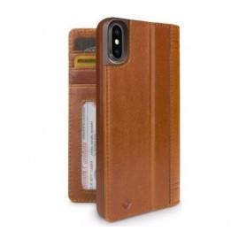 Twelve South Journal iPhone XS Max Marron / Cognac