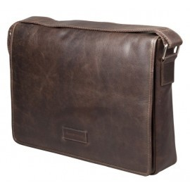 dbramante1928 Marselisborg 14 inch Messenger Bag Hunter Foncé