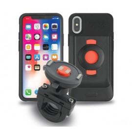 Tigra FitClic Kit moto Neo Support Vélo pour - iPhone X / XS