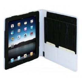 Van der spek Étui à rabat iPad 2 / 3 / 4 en cuir - Blanc