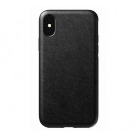 Nomad Rugged Coque iPhone X / XS En cuir Noire