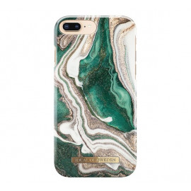 iDeal of Sweden Fashion Back Case iPhone 8 / 7 / 6 / 6S Plus Golden Jade Marble