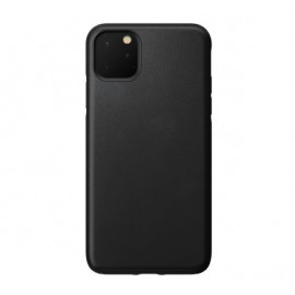 Nomad Active Rugged Cuir - Robuste - Coque iPhone 11 Pro Max - Noire