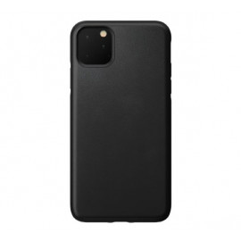 Nomad Rugged Coque iPhone 11 Pro Max En cuir Noire