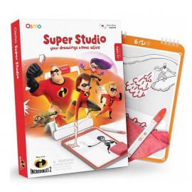 Osmo Super Studio les indestructibles 2 - Jeu de Dessin et Coloriage