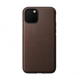Nomad Rugged Coque iPhone 11 Pro Max En cuir Marron