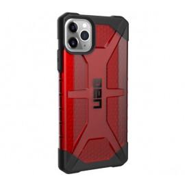 UAG HardCase Plasma - Coque iPhone 11 Pro Max Antichoc - Rouge