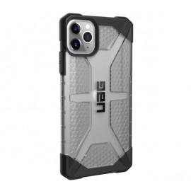 UAG HardCase Plasma - Coque iPhone 11 Pro Max Antichoc - Gris Transparent