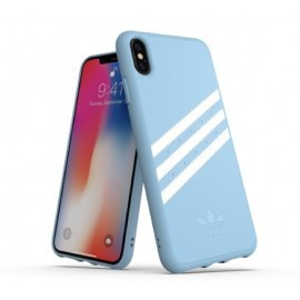 Adidas OR Coque Moulée iPhone XS Max Bleu Clair