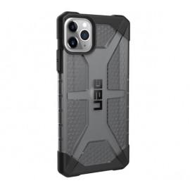 UAG HardCase Plasma- Coque iPhone 11 Pro Max Antichoc - Gris Transparent