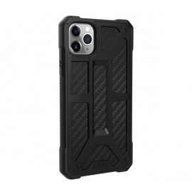 UAG Hardcase Monarch Coque iPhone 11 Pro Max Antichoc Noir Carbone