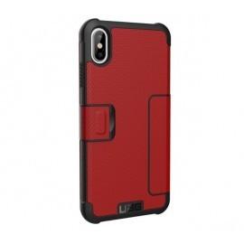 UAG Coque Antichoc Metropolis iPhone XS Max rouge