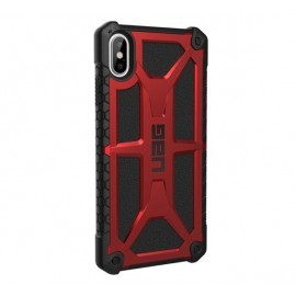 UAG Coque Antichoc Monarch iPhone XS Max rouge noire