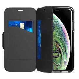 Tech21 Coque Evo Wallet iPhone XS Max noire
