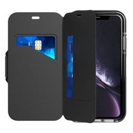 Tech21 Evo Coque Portefeuille iPhone XR noir