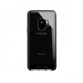 Tech21 Coque Antichoc Evo Check - Samsung Galaxy S9 - Noir transparent