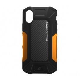 Element Case Formula - Coque Antichoc - iPhone X / XS - Noire et Orange