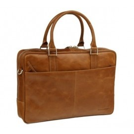 "Sac d'affaires Dbramante 1928 en cuir (ordinateur 16"") - Brun Marron"