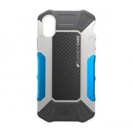 Element Case Formula - Coque Antichoc - iPhone X / XS - Grise et Bleue