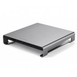 Support d'écran Satechi en aluminium Gris pour iMac