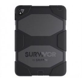 Griffin Survivor étui iPad Air 2 / iPad Pro 9.7 Noir