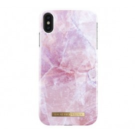 iDeal of Sweden Coque Fashion iPhone XS Max marbre rose