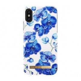 iDeal of Sweden Coque Fashion iPhone X / XS orchidée bleu