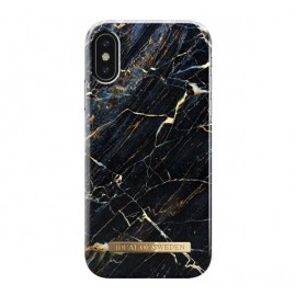 iDeal of Sweden Coque Fashion iPhone X / XS marbre noir